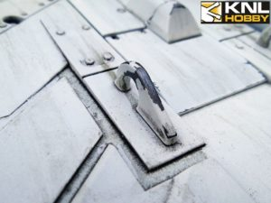 leopard-2a6-un-white-coating close-up wheel KNL HOBBY