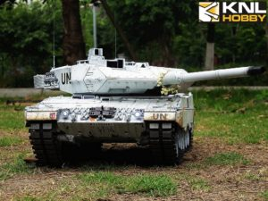 Germany UN White Coating Leopard 2A6 KNL HOBBY