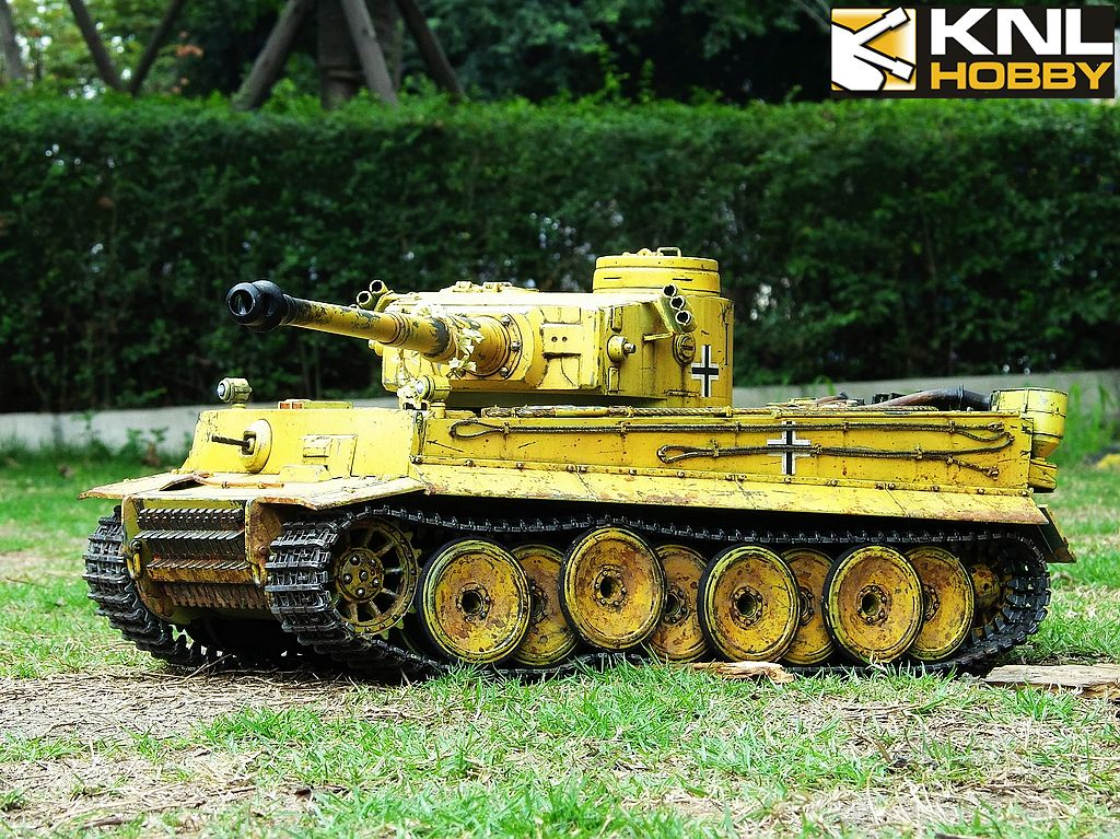 Germany Sand Coating Tiger Command KNL HOBBY