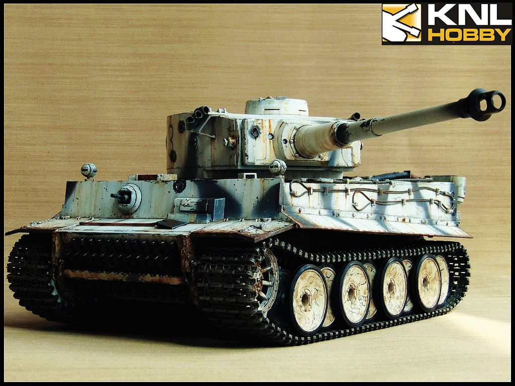 Germany Camouflage Snow White Tiger KNL HOBBY